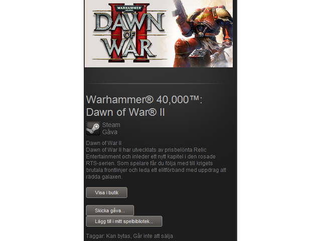 Warhammer 40K Steam Key