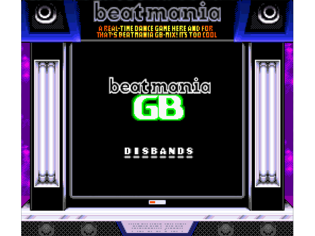 disbands - Beatmania GB