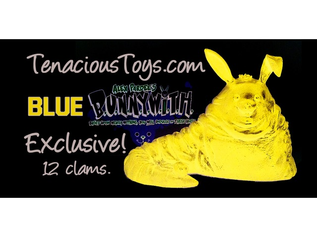 Tenacious Toys Exclusive BUNNYWITH Affinity for Slave Women Blue by Alex Pardee