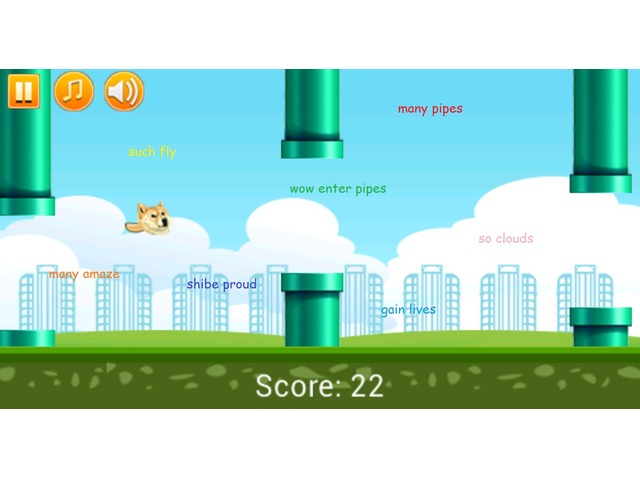 Such Flappy Doge to Android!