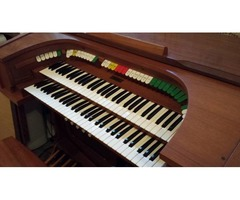 ALLEN THEATRE ORGAN MODEL 12 & MATCHING GYROPHONIC SPEAKER