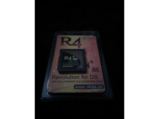 R4 3DS card for DS games