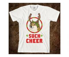 Christmas Doge Various Shirts