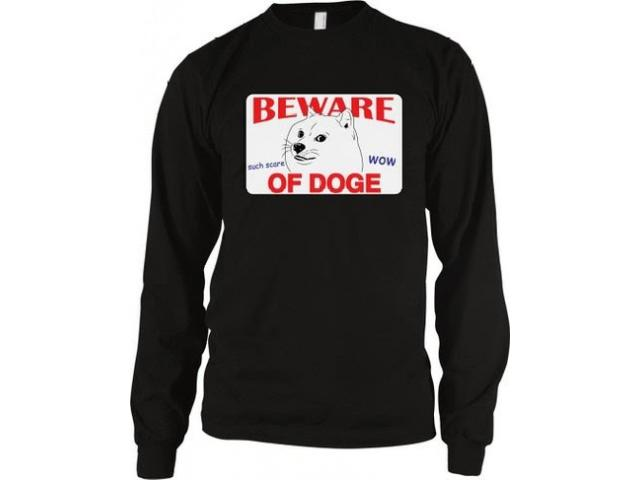 Beware of Doge Longsleeves