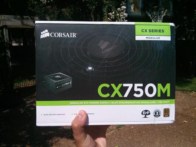 Corsair CX750M (new)