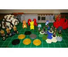 3D printed and painted figure and other objects upon request