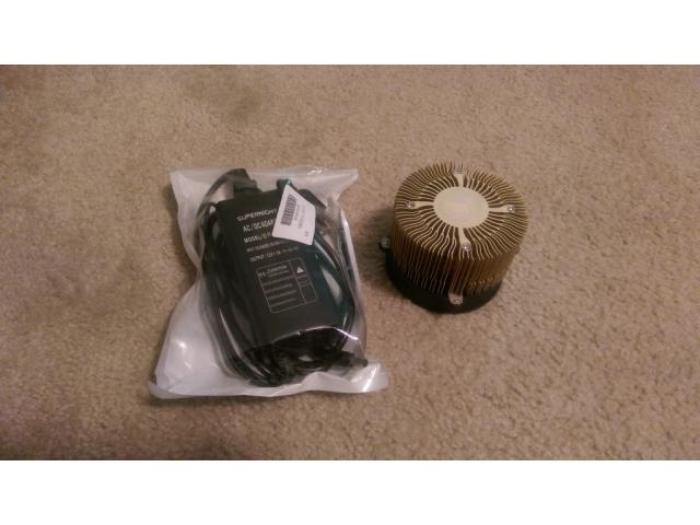 Gridseed ASIC scrypt miner 5 chip ~350 kh/s