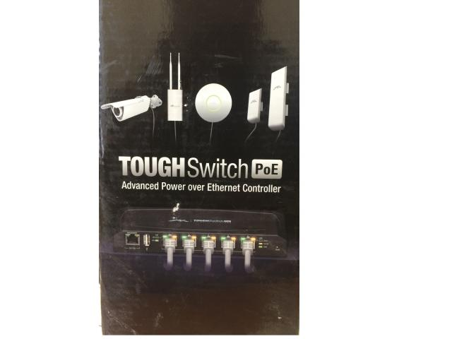 New Ubiquiti Tough Switch 5 port PoE