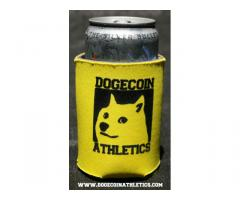 Dogecoin Athletics Coozie