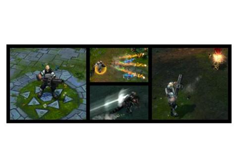 League of Legends Riot Graves Skin Code (EUW ONLY)