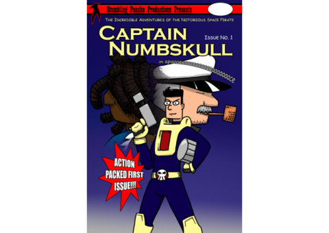 Captain Numbskull in Space #1