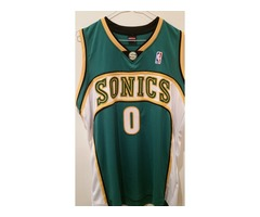 Russell Westbrook Seattle Supersonics Jersey!