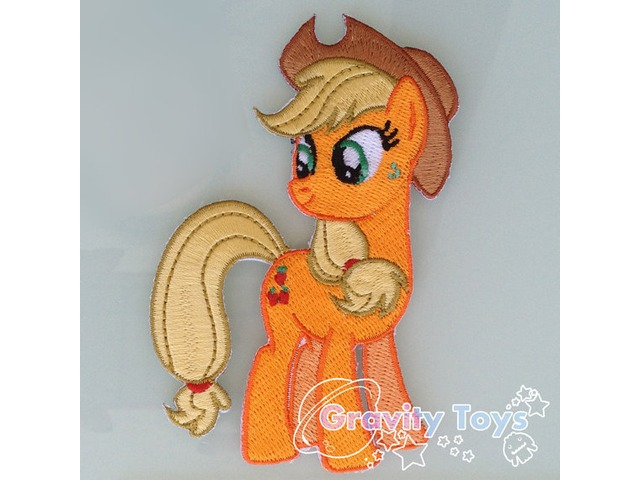 My Little Pony: Friendship is Magic APPLEJACK Iron on Embroidery Patch Applique
