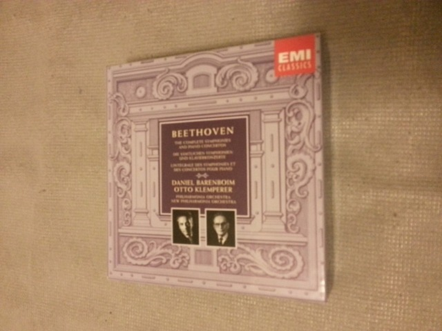 BEETHOVEN - The Complete Symphonies and Piano Concertos