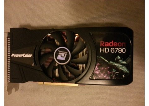 PowerColor Radeon HD 6790 250+ kh/s DOGE mining