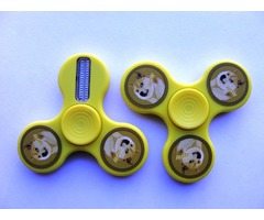 Dogcoin LED Fidget Spinner