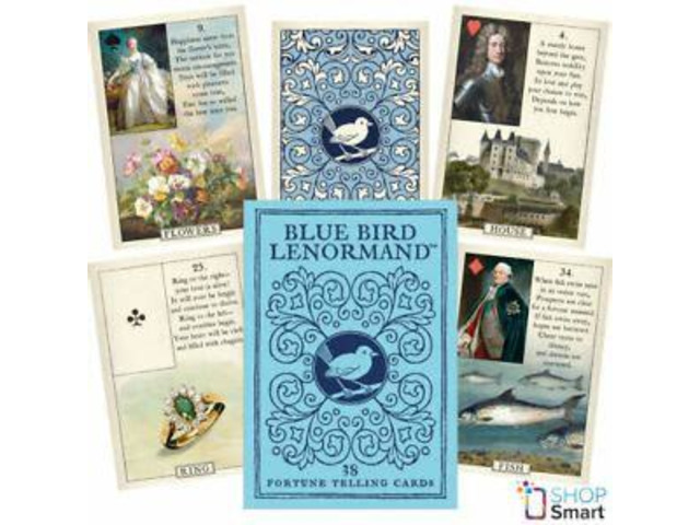 Three Card Tarot or Lenormand Reading