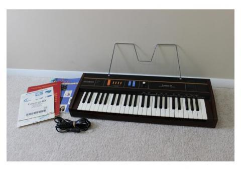 CASIO CASIOTONE 101 CT-101 VINTAGE ANALOG ELECTRIC KEYBOARD/PIANO SYNTHESIZER