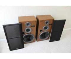 Technics SB-CR77 3-Way 200W Floor Standing Stereo Speakers
