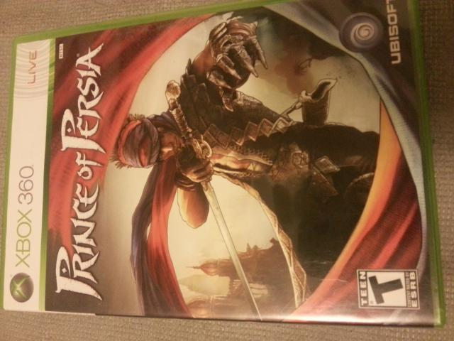 Prince of Persia XBox 360 (2008)