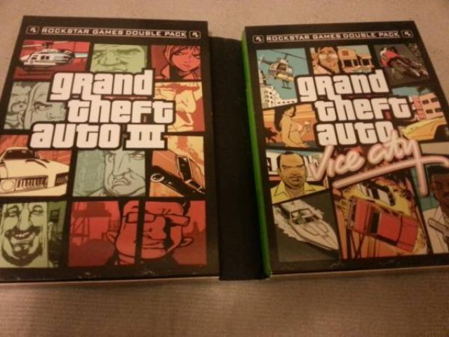 Grand Theft Auto III and Vice City XBox