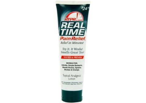 Real Time Pain Relief - Topical Analgesic Lotion