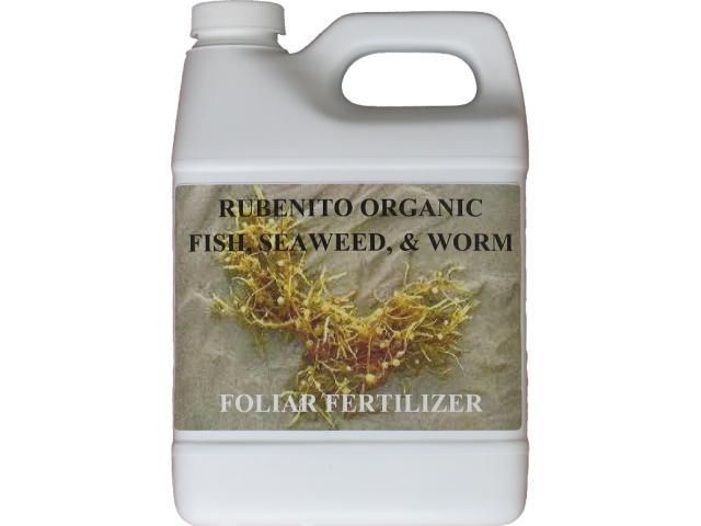 Rubenito Organic Fish,Seaweed, & Worm Foliar Spray