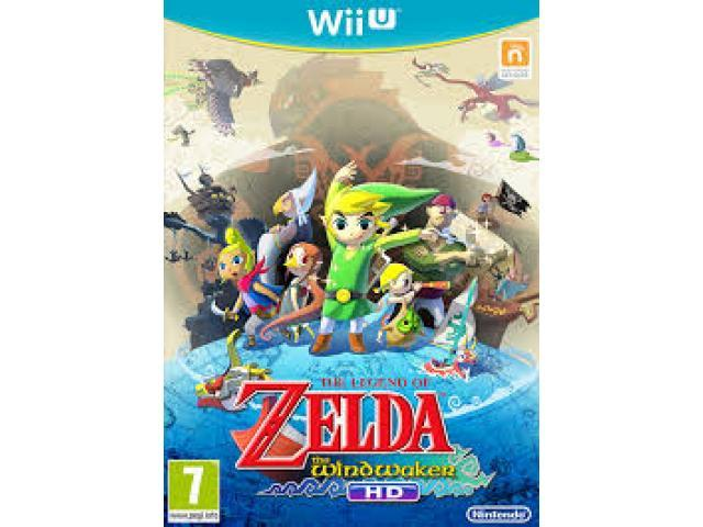 The Legend of Zelda: Wind Waker HD Download Code (Americas only!)