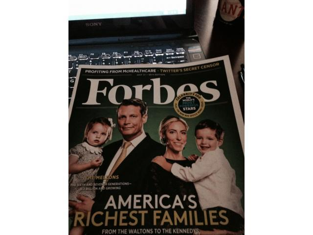 Forbes July 21, 2014 Issue